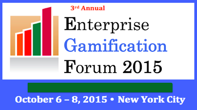 Thinking Integral to Present at the 3rd Annual Enterprise Gamification Forum
